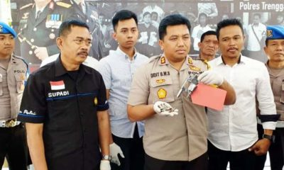 Polisi amankan pelaku beserta barang buktinya