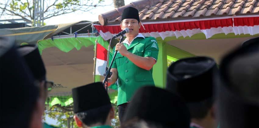 Gus Ipin Hadiri Pelantikan Pengurus Cabang GP Ansor di Prigi