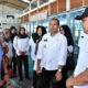 Sekda Trenggalek bersama Dirut Perum Perindo meninjau cabang Pelabuhan Nusantara Prigi