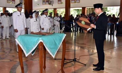 Wabup Arifin Lantik 131 Kepala Desa di Trenggalek