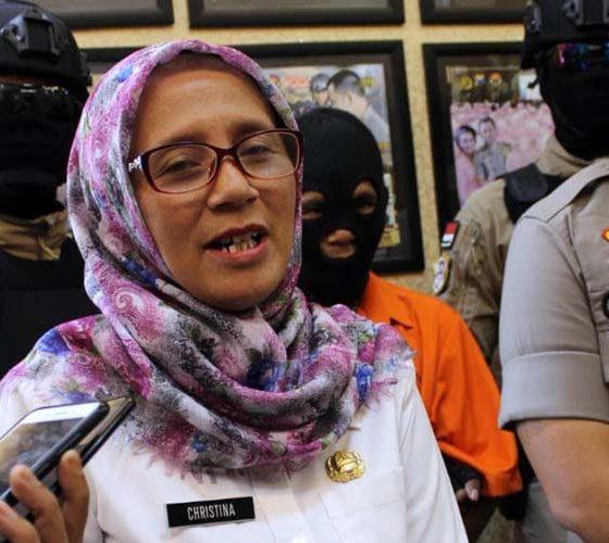 Kabid Pemberdayaan Perempuan dan Perlindungan Anak Dinsos P3A Kabupaten Trenggalek, Christina Ambarwati