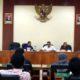 Anggota DPRD Trenggalek hearing bersama Aliansi Rakyat Peduli Trenggalek. (mil)