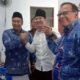 Mochamad Nur Arifin saat berada di Kantor DPC Partai Demokrat untuk mengambil formulir dan mendaftarkan diri sebagai calon Bupati Trenggalek periode 2020-2025. (ist)