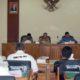 Suasana hearing Forum Komunikasi Peduli Kemanusiaan di kantor DPRD Trenggalek. (mil)