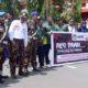 Tuntut Pelayanan RSUD Dr Soedomo, Ratusan Demonstran Geruduk Kantor DPRD Trenggalek