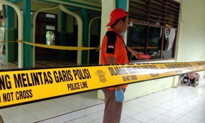 ODGJ Tulungagung Bunuh ODGJ Trenggalek dalam Masjid Ponpes