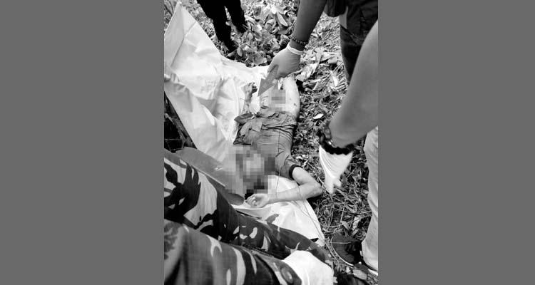 Pembunuhan tragis akibat dendam lama yang terjadi di kawasan hutan Kecamatan Kampak Trenggalek. (ist)
