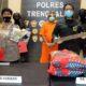 Polisi amankan pelaku beserta barang buktinya. (ist)