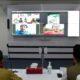 Video conference Bupati Trenggalek bersama perantau asal Trenggalek yang menunda mudik. (ist)