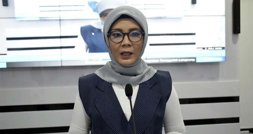 Jubir Percepatan Penanganan Covid-19 Kabupaten Trenggalek dr Murti Rukiyandari. (ist)