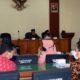 Suasana rapat kerja Pansus II DPRD Trenggalek bersama Tim Asistensi di Aula gedung DPRD Trenggalek. (ist)