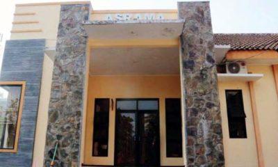 RUANG ISOLASI : Asrama Kantor Disnaker Kabupaten Trenggalek yang akan dijadikan ruang isolasi Covid-19 ketiga