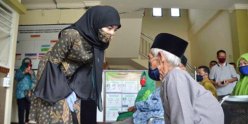 Novita Hardiny Ingatkan Masyarakat Tak Lalai Jaga Kesehatan Selama Pandemi