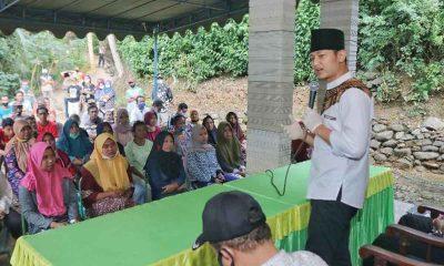 Cabup Arifin saat berkunjung ke Desa Sugihan Kecamatan Kampak - Canangkan Program 5000 Wirausaha Perempuan