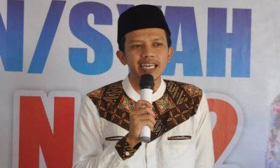 Calon Wakil Bupati Trenggalek nomor urut 2 Syah Natanegara.