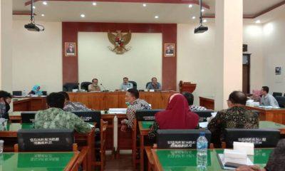 Suasana rapat kerja Komisi 3 DPRD Trenggalek bersama sejumlah OPD mitra.