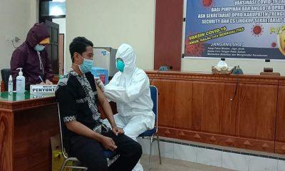 Semua Unsur DPRD Trenggalek Jalani Vaksinasi Covid-19 Tahap Pertama